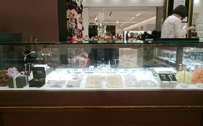 Carroll神戸店シルバーアクセサリーディスプレイ