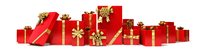 christmas gifts footer
