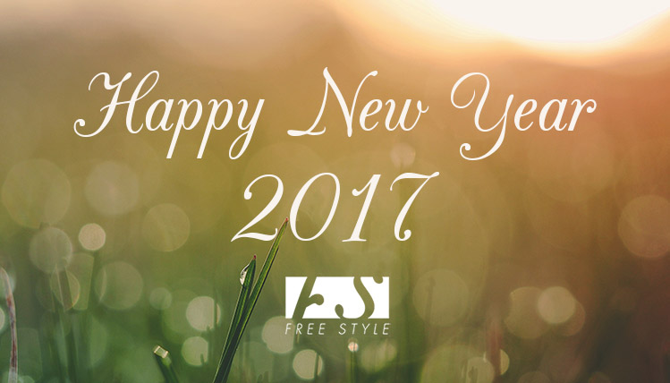 happy new year 2017 freestyle silver
