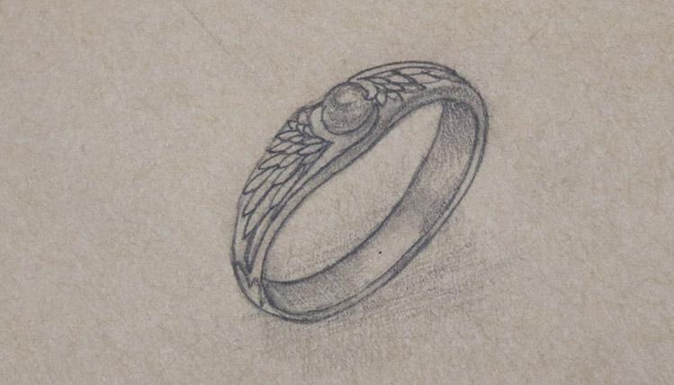 Wing ring sketch