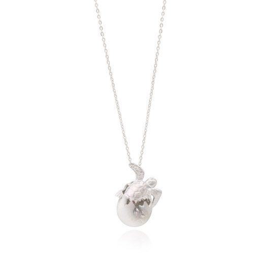 ホヌ-(亀)-ハッチングエッグ-ネックレス
