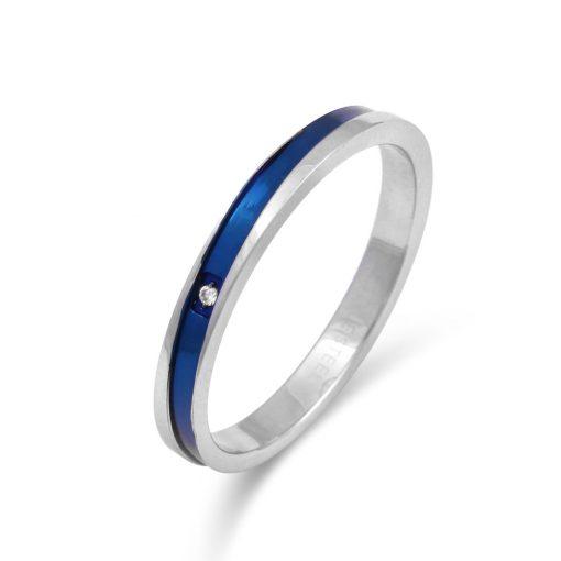 ブルースロープライン ステンレスリングFSSTR038-BLUE